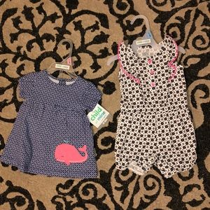 Carter's Baby Girl Outfits NEW!!